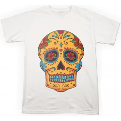 T-shirt Teschio Messicano Tattoo