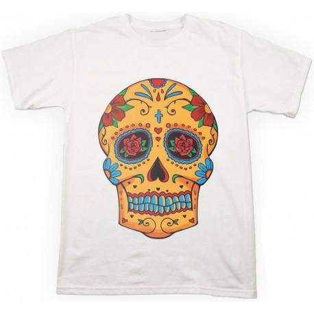 T-shirt Teschio Messicano