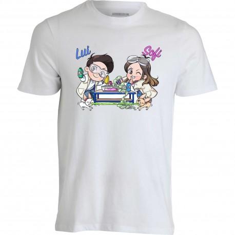 T-shirt Me Contro Te Slime Lab