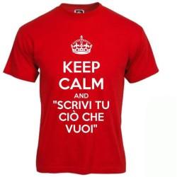 T-shirt Keep Calm personalizzata