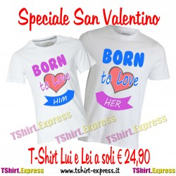 T-shirt Lui e Lei San Valentino