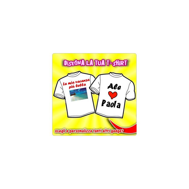 La tua t shirt personalizzata for Costruisci la tua casa personalizzata