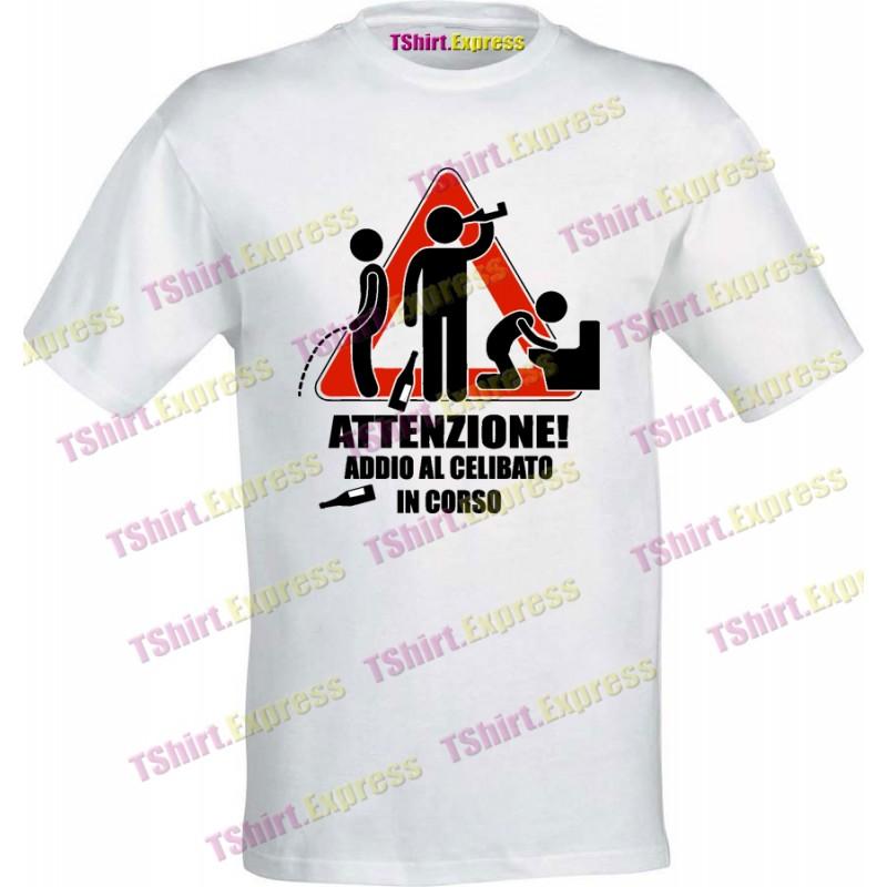 T shirt di addio al celibato addio al celibato in corso for Cabina di addio al celibato