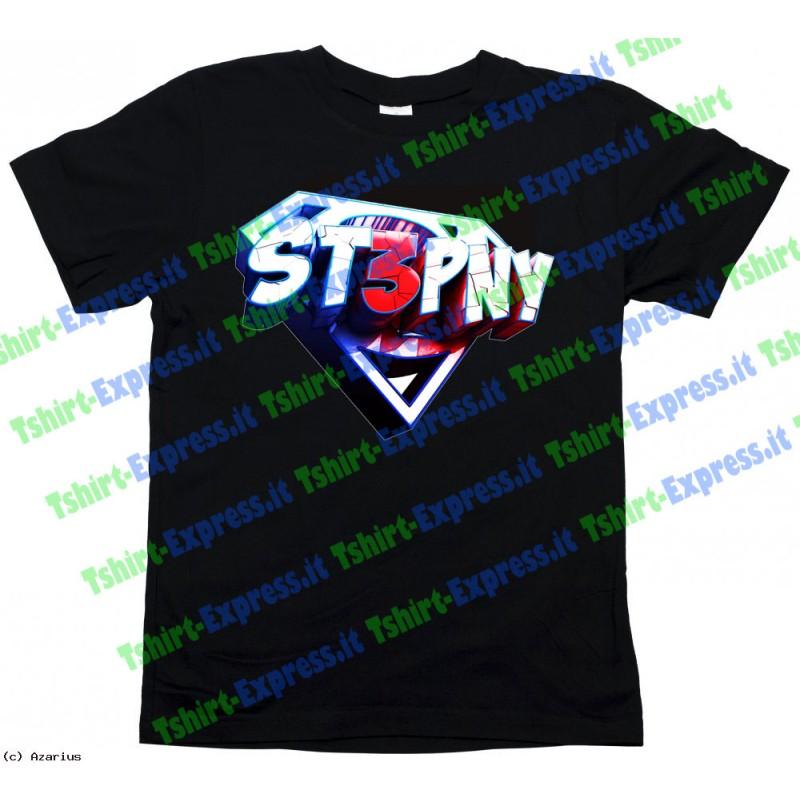 Youtube Italia uomo donna bambino Maglietta T-shirt ST3PNY stepny dei MATES