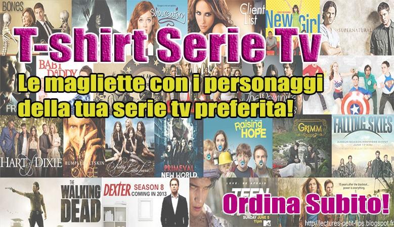 Le T-shirt della tua serie televisiva preferita!