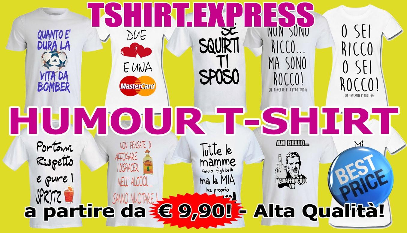 T-shirt umoristiche