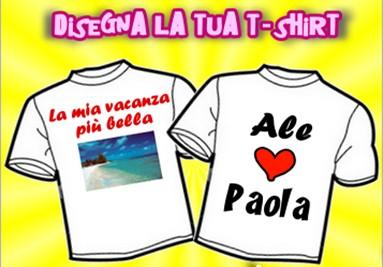 Disegna la tua T-shirt!